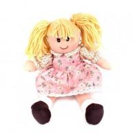 BUMI Rongybaba rózsaszín virágos ruhában 4311O