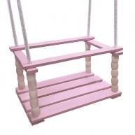 IMP-EX beülős fa babahinta rózsaszín 5571-A