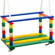 IMP-EX Gyermek színes fa hinta 0454-B