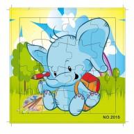 16db-os puzzle Elefántos 4332N
