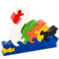 3D Puzzo úszó hattyú 3827