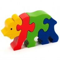 3D Puzzo medvebocs 1621