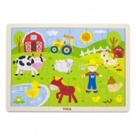 VIGA puzzle 24 db-os farmos 3450