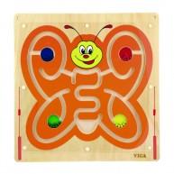 VIGA Falra szerelhető mágneses golyóvezető pillangó 5172