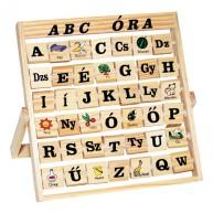 ABC tanító fajáték képekkel betűkkel 0227