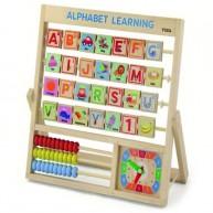 VIGA Angol ABC Alphabet learning fajáték 5173