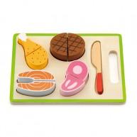 IMP-EX szeletelhető játék húsfélék tálcán 5135