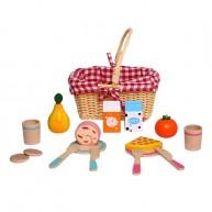 Játék piknikes kosár kiegészítőkkel 5107