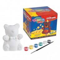 Colorino kifesthető macis persely DIY fesd ki magad 31950