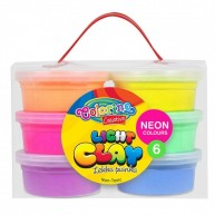 Colorino 6db-os habgyurma neon színű 92142