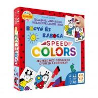 Speed Colors Bogyó és Babóca színezős társasjáték