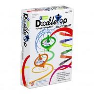 Doodletop Duett filctoll pörgettyű készlet pörgettyűkkel, filctollakkal és pörgettyűtálcával 60604