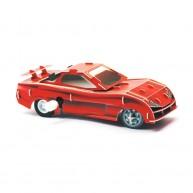 Hope Felhúzható 3D modell piros versenyautó