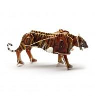 Hope Felhúzható 3D modell tigris