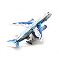 Hope Felhúzható 3D modell személyszállító repülőgép