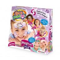 Face Paintoos arcfestő, arctetováló csomag gyerekeknek varázslatos tündér világ mintákkal FP003