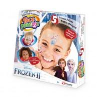Face Paintoos arcfestő, arctetováló csomag gyerekeknek Frozen 2 jégvarázsos mintákkal FP201
