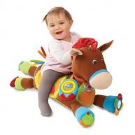 Melissa & Doug első plüss lovam - gyerek számára megülhető első lovacska 9222