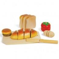 Legler fa szeletelhető játék pékárú 7120