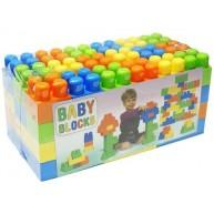 Dohány Baby Blocks 54 db-os színes építőkocka készlet (687)