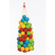 Dohány medencefeltöltő színes labda játszóházi színes labda 100db 7cm átmérőjű