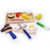 Legler fa szeletelhető Gourmet játék ételek 7186