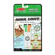 Mellissa & Doug újrajátszható rejtvényfejtő állati játékok 30171