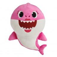 Baby Shark zenélő plüss- Mammy Shark anya cápa