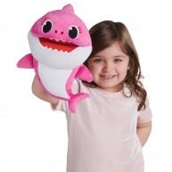 Baby Shark ütemre zenélő Mammy Shark anya cápa plüss báb