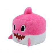 Baby Shark Zenélő kocka plüss játék - Mammy Shark Mami cápa