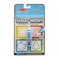 Melissa & Doug kreatív rajzolás vízzel - színek és formák 9444