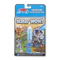 Melissa & Doug kreatív vízzel festhető füzet felfedezés témakörben 9317