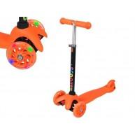 Gyermek 3 kerekű roller 2 első világító kerékkel 1076