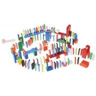 Komplett domino kirakó 407db-os, vicces kiegészítőkkel 9357