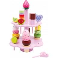 Legler süteményes és édességes tálaló állvány 3312