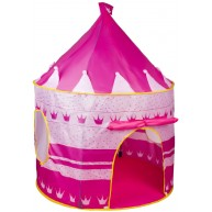 Kastélyos hercegnős játszósátor lányoknak - rózsaszín  M-1164