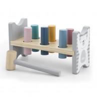 PolarB kalapálós dühöngő játék pasztell színekben 5803
