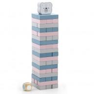 PolarB Jenga építő torony társasjáték 5805