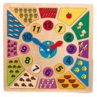 Legler fa óra tanuló puzzle 1828