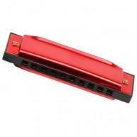 Legler szájharmonika piros 7579c