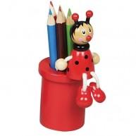 IMP-EX ceruzatartó katicás ceruzákkal 1318-B