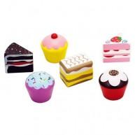 VIGA fa játék sütemény variációk 3462