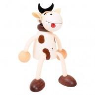 IMP-EX fehér bika rugós figura 3843-7