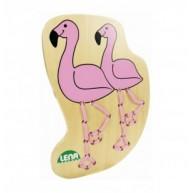 Lena Flamingó fűzőcskés játék