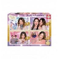 Educa Disney Violetta puzzle csomag, 4 kép