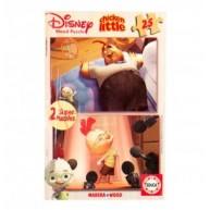 Educa Disney Csodacsibe fa puzzle, 2 x 25 darabos