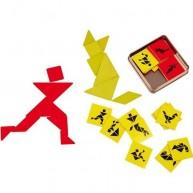 Lelger tangram kicsi játék utazáshoz 2437