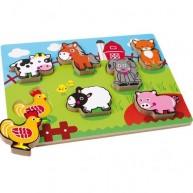 Legler magasított puzzle - farm 1468