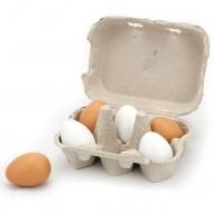 VIGA játék fa tojások tartóban 3767