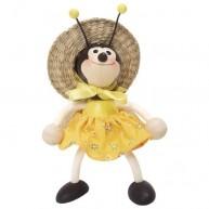 IMP-EX Rugós méhecske lány figura kalapban 3843-50